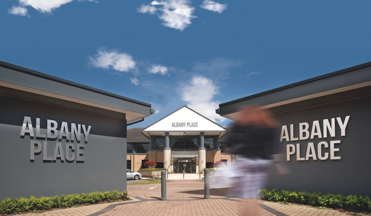 AP entrance ext - Albany Place, Broadwater Road , Welwyn Garden City, AL7 3BG