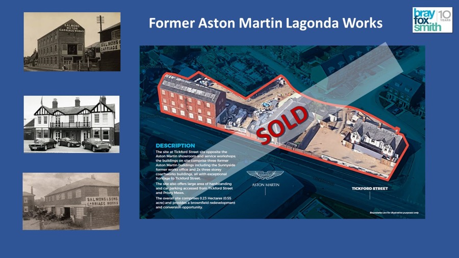 Tickford Street Newport Pagnell 1 - Sale of Former Aston Martin Lagonda Works