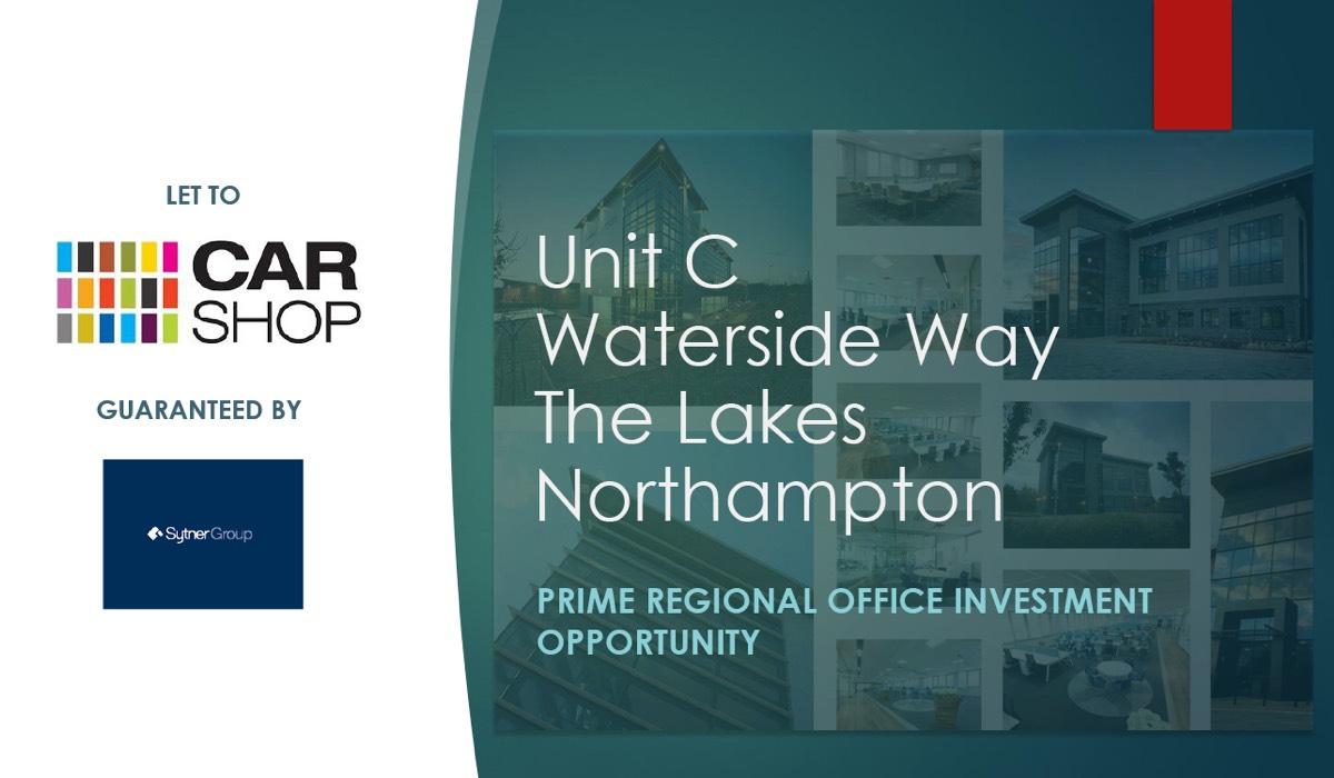 Unit C Waterside Way Northampton - Unit C, Waterside Way, The Lakes,  Northampton, NN4 7XD