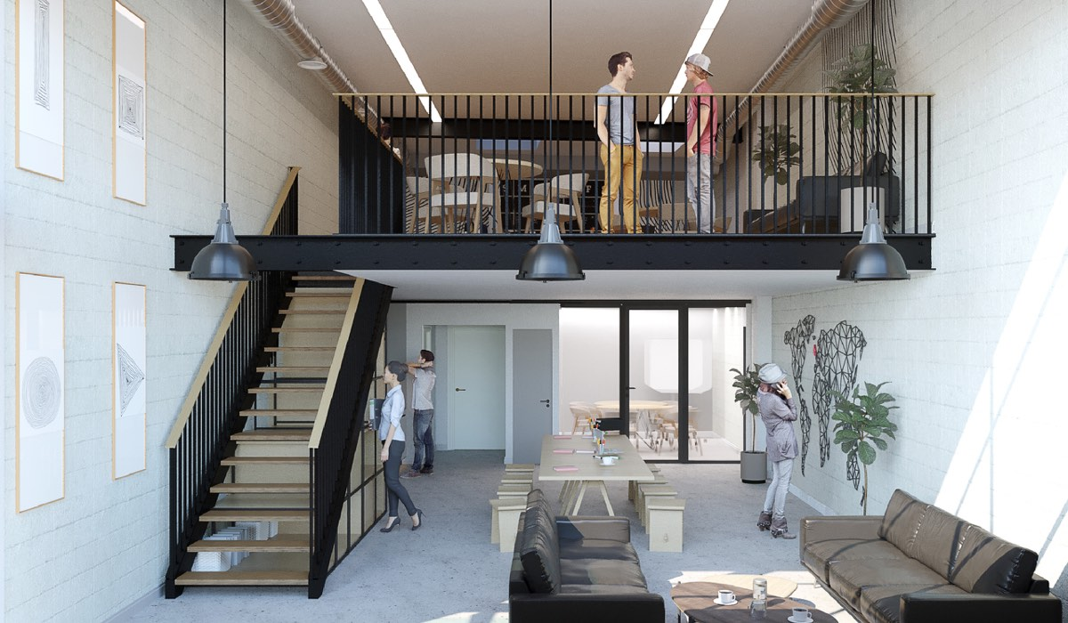 colour house dalston 2 - Colour House, Bentley Road, Dalston, N1 4BY