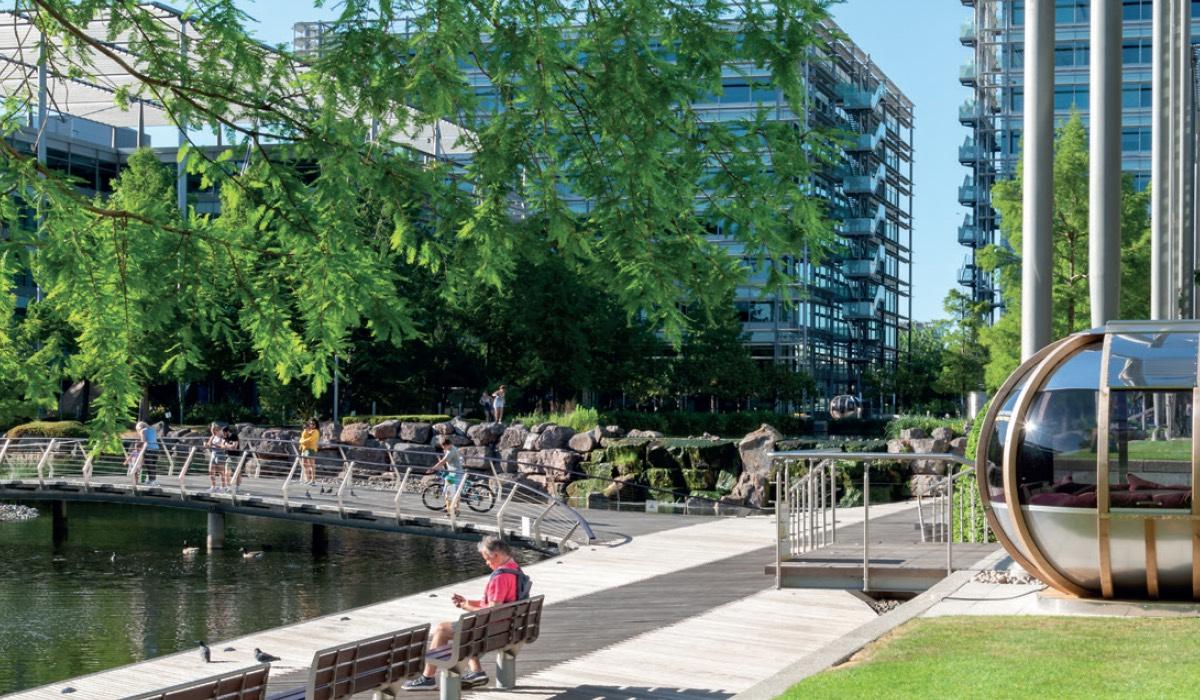 building 9 chiswick 2 - Building 9 Chiswick Park, Chiswick High Road, London, W4 5YA
