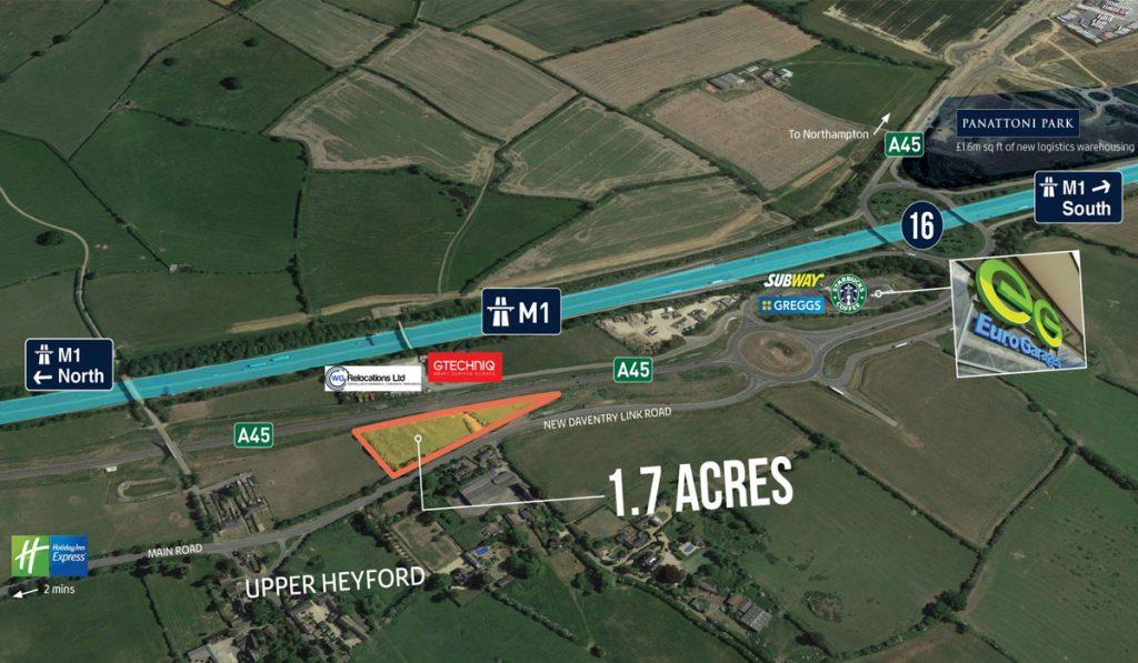 northampton land 1024x597 - Land at Zone 3 Bridge Business Park, Northampton, NN7 3FA