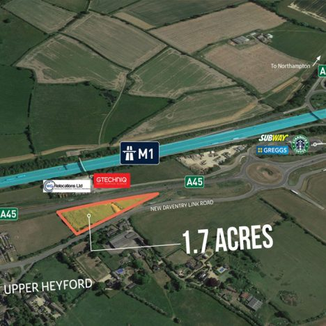 northampton land 468x468 - Land at Zone 3 Bridge Business Park M1/JTN 16, Northampton, NN7 3FA